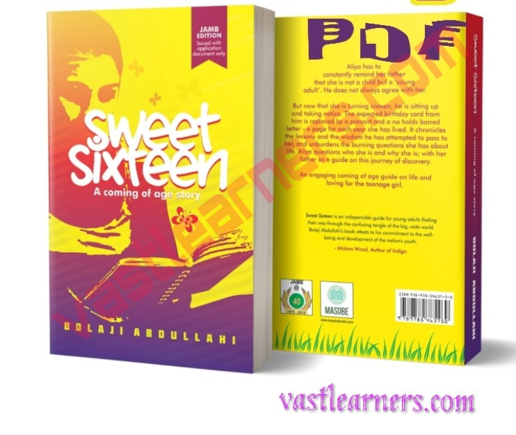 JAMB POSSIBLE QUESTIONS FROM SWEET SIXTEEN